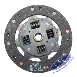 Disco de Embragem - 210 Mm - Original Ford Unidade - ford