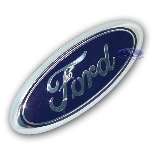 EMBLEMA FORD DA GRADE DO RADIADOR ( NEW FIESTA 2010 A 2013 /