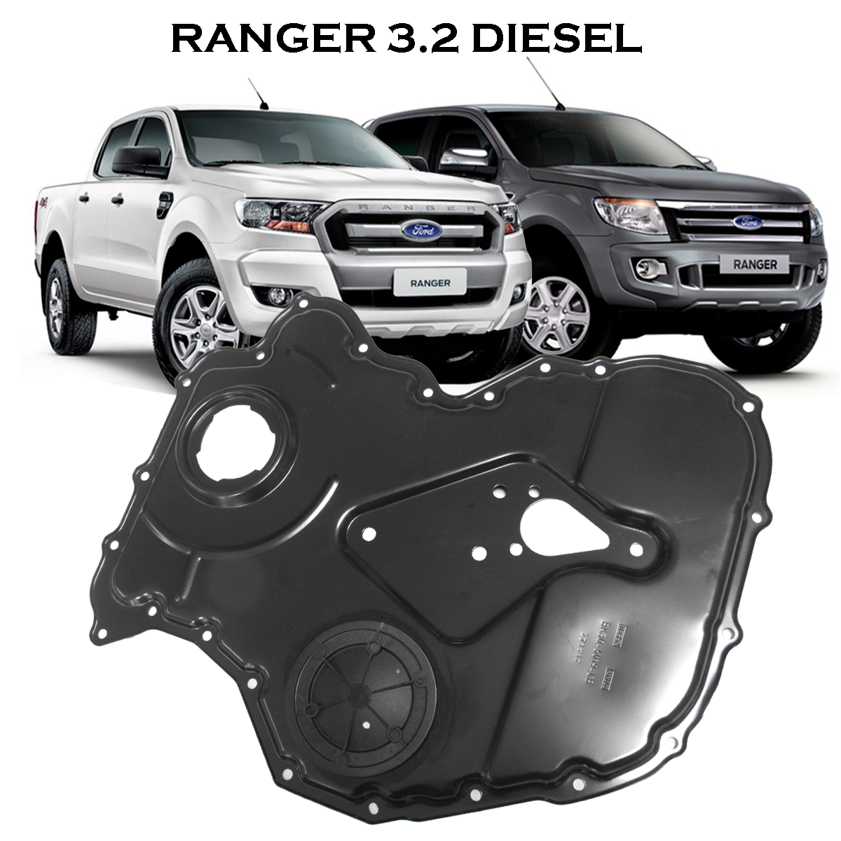 Tampa Frontal do Bloco de Cilindros do Motor ( Ranger 2013 a