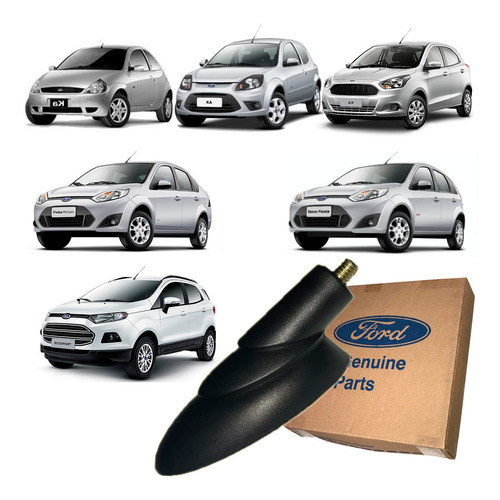 Base da Antena do Teto (ford Ka 1997a 2015)(ecosport 2010 a