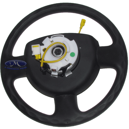 Volante de Direcao ( Ecosport 2003 a 2006 - Com Air Bag Para
