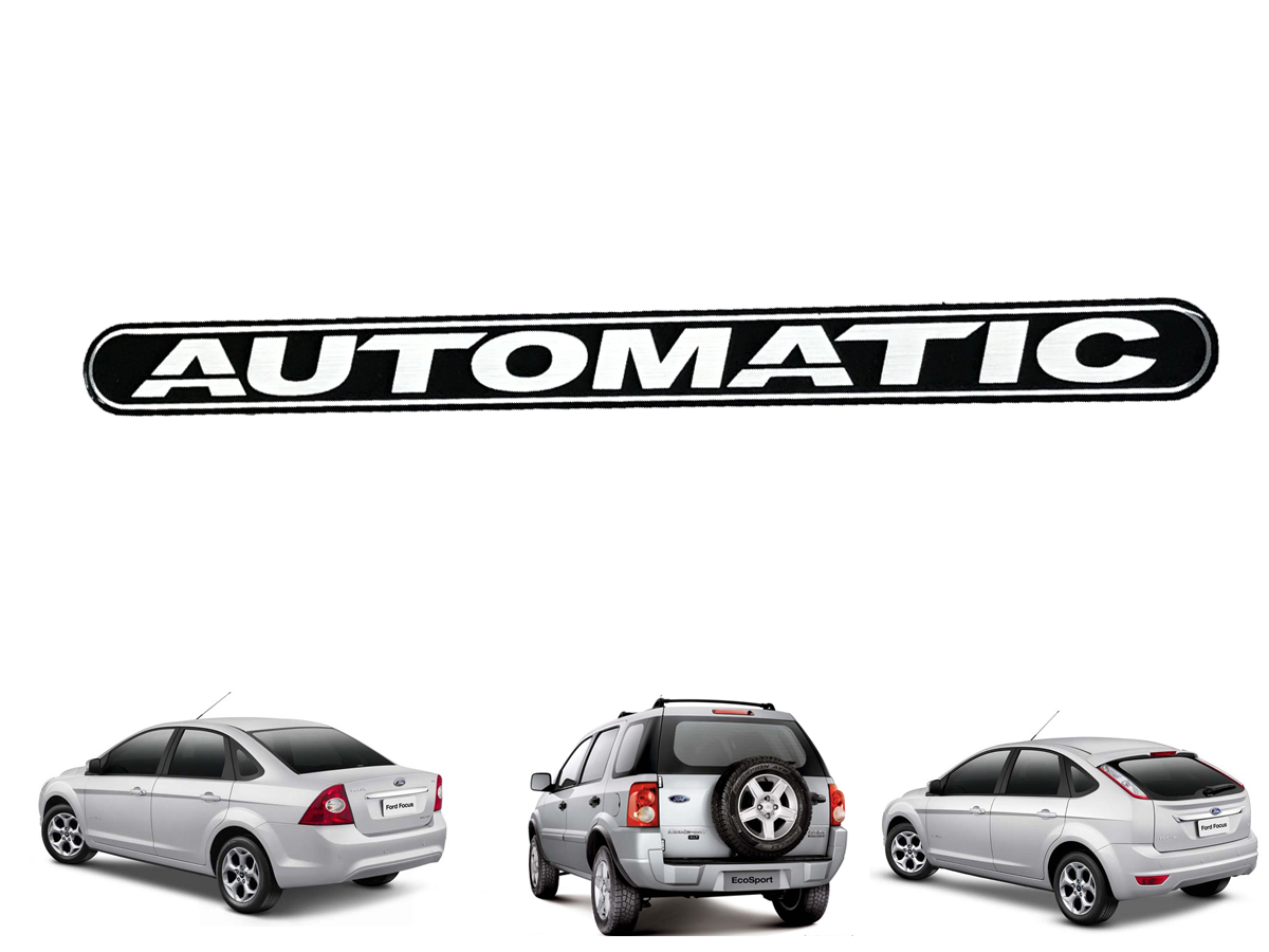 LOTOTIPO AUTOMATIC ( ECOSPORT 2007 A 2012 ) ( FOCUS 2009 A 2