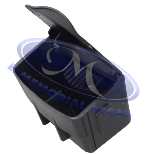 Cinzeiro do Console Central ( Preto ) - (focus 2001 a 2009)