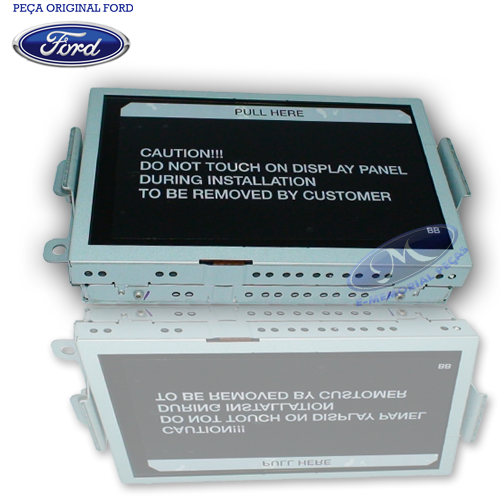 Display do Radio - Edge 2012 a 2013 - Marca: Original Ford -