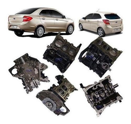 Motor Parcial - Bloco do Motor Montado ( Bloco Com Virabrequ