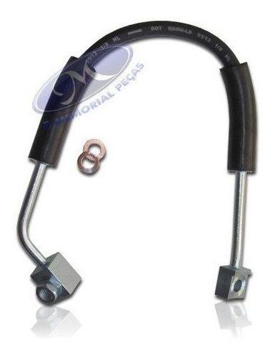Flexivel Mangueira do Freio Dianteiro - Lado Esquerdo ( Moto